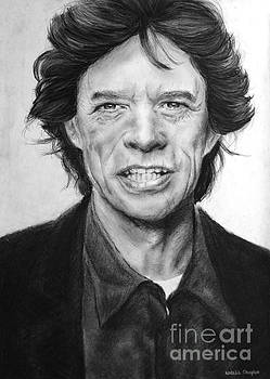 Mick Jagger by Natalia Chaplin