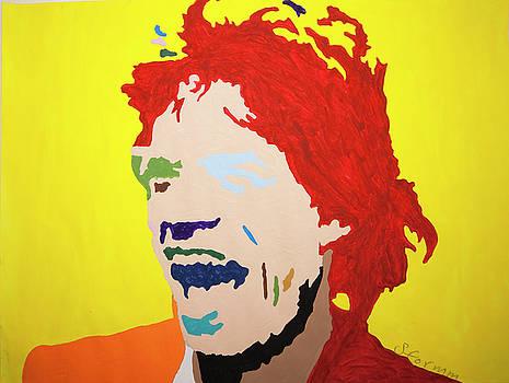 Mick Jagger by Stormm Bradshaw