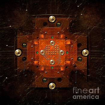 Alexa Szlavics - Microchip Mandala