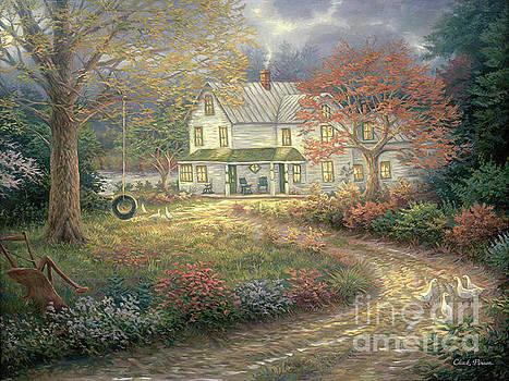 Mid Country Farmhouse by Chuck Pinson