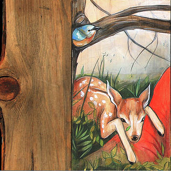 Mid-Summers Day Dream 1st Panel by Jacque Hudson