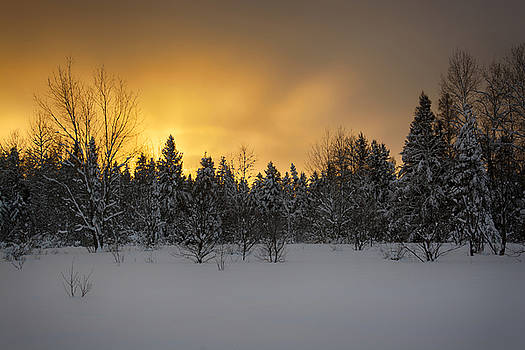 Mid-winter glow by Dan Hefle