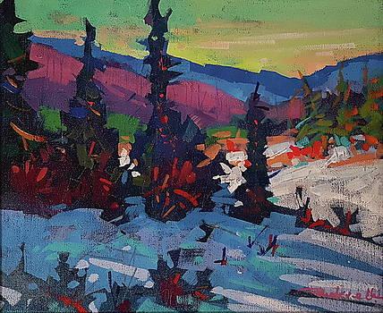 Mid Winter Morning  by Brian Buckrell