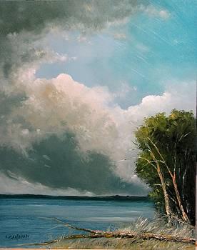 Midday Clouds by Boris Garibyan