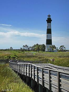 Midday Stroll Around Bodie Island Lighthouse by Matt Taylor