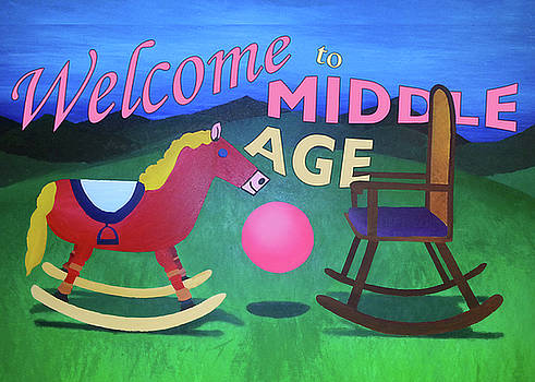Middle Age birthday card by Thomas Blood