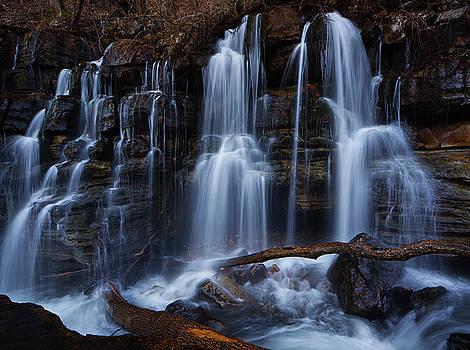 Middle Creek Falls by Dennis Sprinkle
