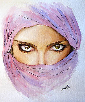Middle Eastern Woman by Anthony Nold