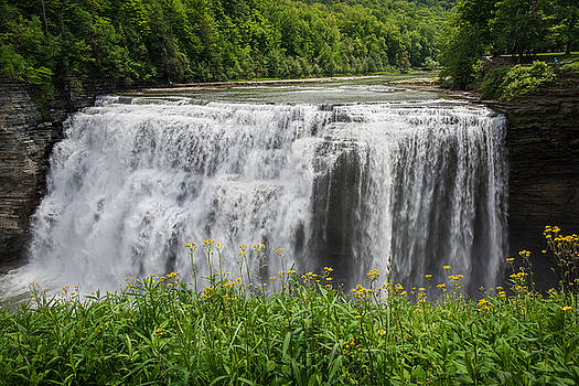Middle Falls, Letchworth State Park, NY by Benjamin Sullivan