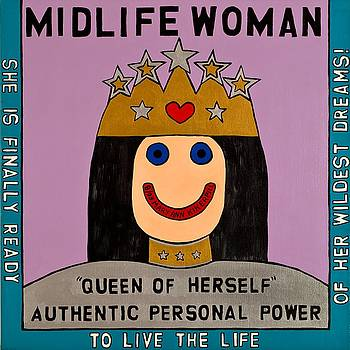 Midlife Woman by MaryAnn Kikerpill