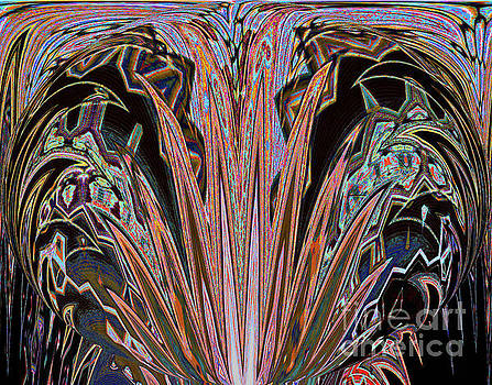 Midnight Enchantment Botanical by Ann Johndro-Collins