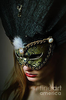 Dimitar Hristov - Midnight Eyes II Venetian eye mask