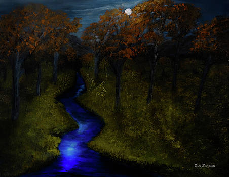 Midnight Forest by Dick Bourgault