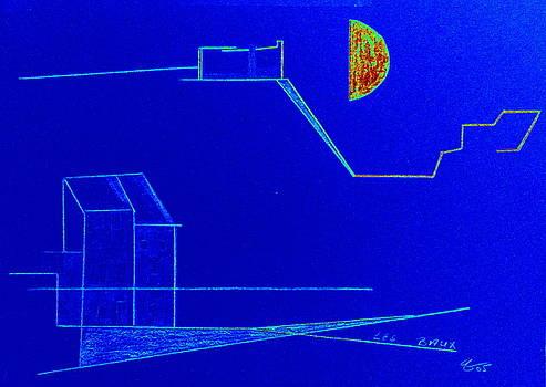 Midnight in Les Baux by Bill OConnor