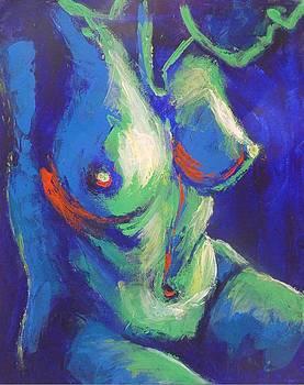 Midnight Lady B - Female Nude by Carmen Tyrrell