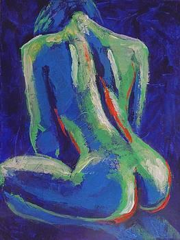 Midnight Lady C - Female Nude by Carmen Tyrrell