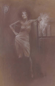 Midnight Lady by Jovica Kostic