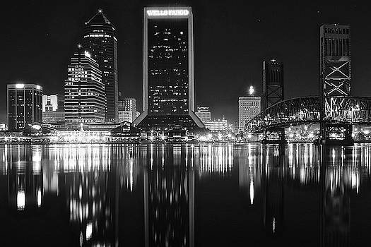 Frozen in Time Fine Art Photography - Midnight Lights in Jacksonville