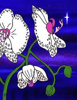 Midnight Orchid  by Irina Sztukowski