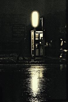 Midnight Phone Booth by Brian Sereda