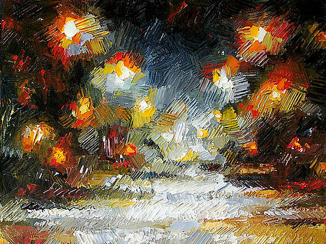 Midnight storm by Debra Hurd