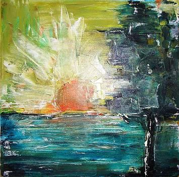 Midnight Sunrise by Jared  Kocak