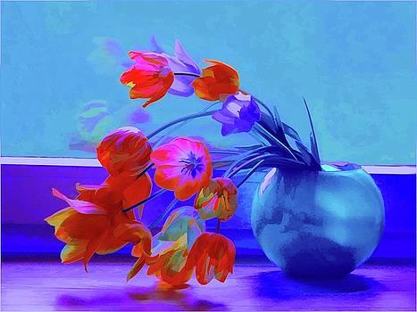 Rosalina Atanasova - Midnight Tulips