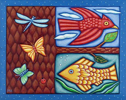 Midsummer Days Dream by Mary Anne Nagy