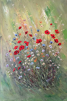 Midsummer Poppies by Dorothy Maier