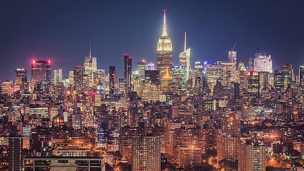 Midtown from Brooklyn by Randy Lemoine