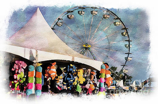 Midway Attractions by Norma Warden