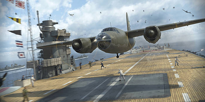 Midway Marauder by Robert Perry