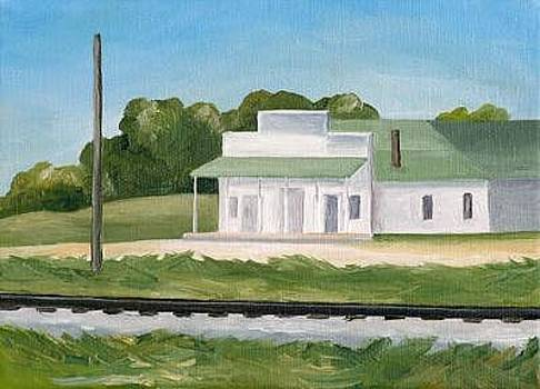 Midwest Post Office by Lisa Graziotto