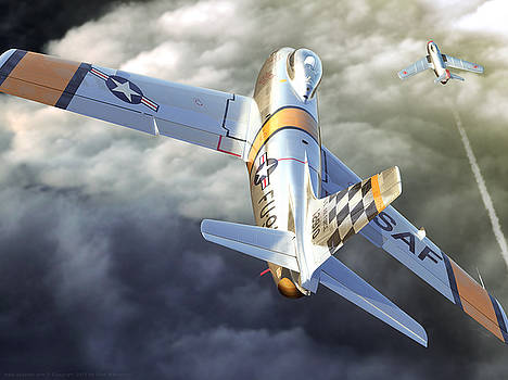 Mig Alley by Gino Marcomini