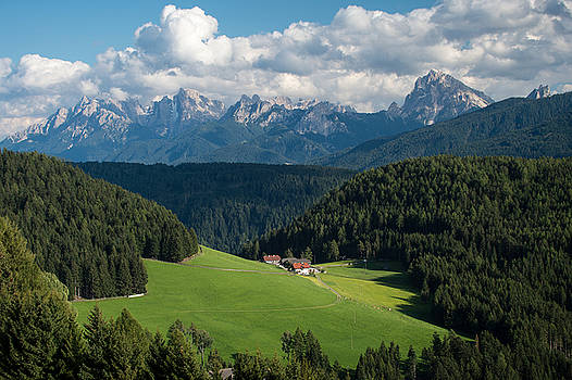 Mighty Dolomites of Italy by Wim Slootweg