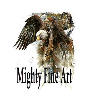 Mighty Fine Art Tee by Peter Williams