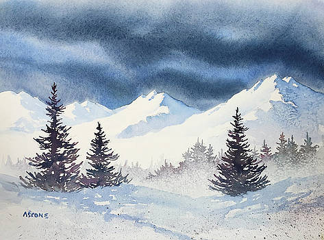 Mighty Mountains by Teresa Ascone