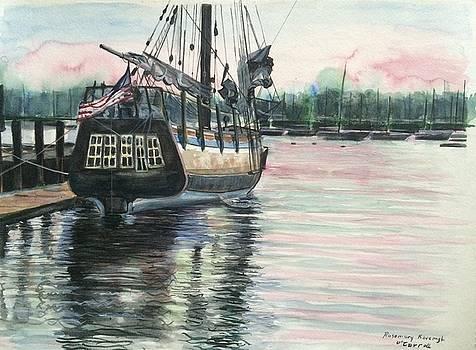 Mighty Ship Sleeping by Rosemary Kavanagh