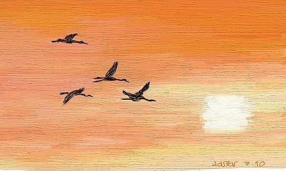 Migratory Birds by Lazar Caran