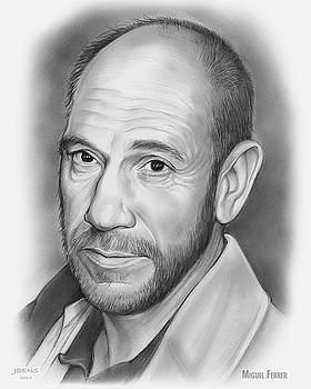 Miguel Jose Ferrer by Greg Joens