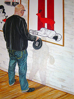 Mike own work by Graham Swan