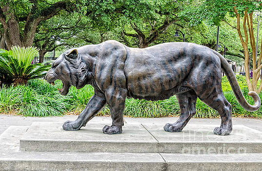 Kathleen K Parker - Mike the Tiger Statue LSU