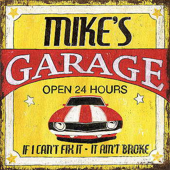 Mike's Garage by Debbie DeWitt