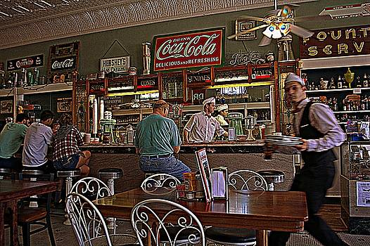 Mikes on Main Hendersonville NC Soda Fountain and Lunch by Kathy Barney