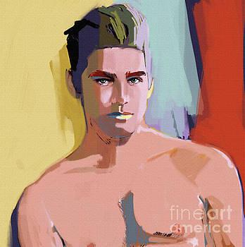Mike portrait by John Castell