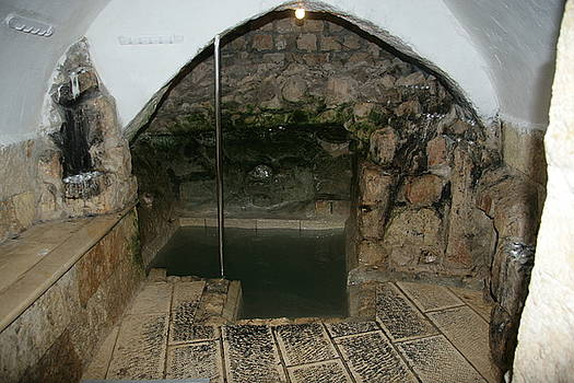 Mikvah - Ritual Pool - of the Arizal by Eliyahu Shear