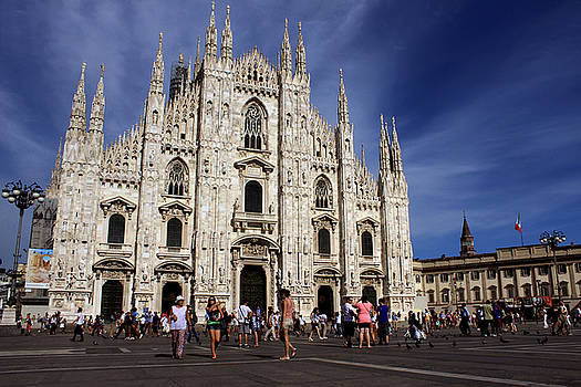 Milan cathedral by Milan Mirkovic