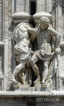 Gregory Dyer - Milan Italy Cathedral Statues