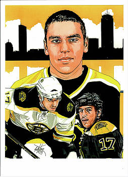 Milan Lucic by Neal Portnoy