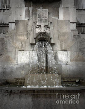 Gregory Dyer - Milan Train Station Fountain